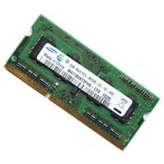 Memorii laptop second hand 1GB DDR3 PC3-10600 - Memorie RAM laptop