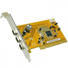 Placi FireWire 400 PCI 4 porturi EXSYS EX-6500E - Adaptor interfata PC