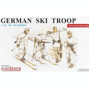 + Kit figurine scara 1/35 - Dragon 6039 German Ski Troop 39 +