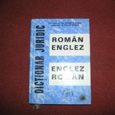 DICTIONAR JURIDIC - ROMAN ENGLEZ - ENGLEZ ROMAN