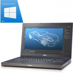 Laptop Refurbished Precision M4700, i7-3540M, 16Gb, Win 10 Pro - Laptop Dell, Intel Core i7, Diagonala ecran: 15