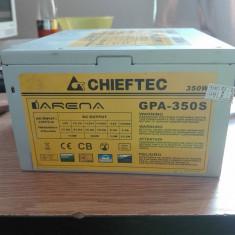 Sursa Chieftec Iarena Gpa-350s, 350w Eficienta 85% - Sursa PC