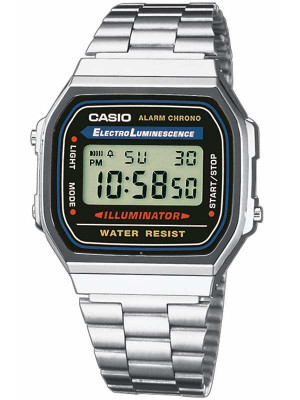 Ceas original Casio Retro A168WA-1YES foto