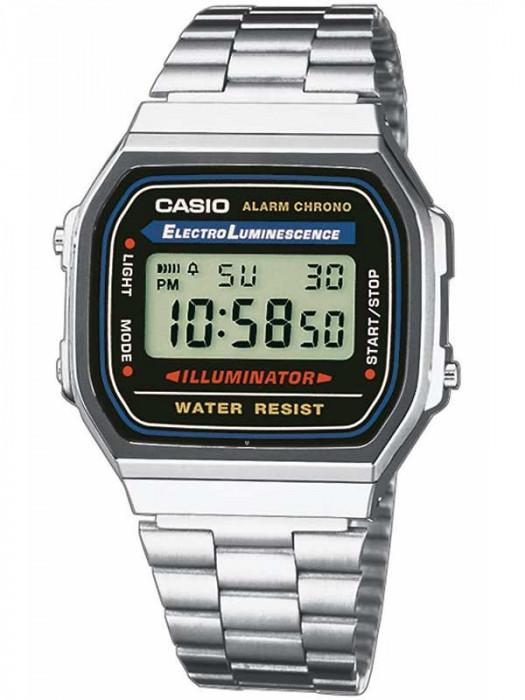 Ceas original Casio Retro A168WA-1YES foto mare