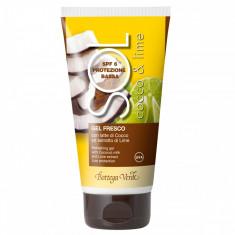 Protectie solara - Cocos si Lime - Gel racoros cu lapte de co... - Bottega Verde