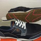Pantofi sport lifestyle casual Checker Navy , marime 41 , poze reale, Din imagine