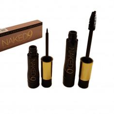 Set 2in1 Mascara si Eyeliner pentru ochi Naked 9 Urban Decay Practic HomeWork - Fular Barbati