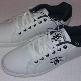 Adidas  C&A BRKLYN CREW White Navy , marime 41 , unisex, Alb