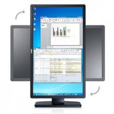 Monitoare second hand LED Dell Professional P2412H Full HD - Monitor LCD Dell, 24 inch, 1920 x 1080