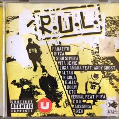 Compilatie R.U.L. (Parazitii, Vita De Vie, Luna Amara, Sisu & Puya) (1 CD) - Muzica Hip Hop roton