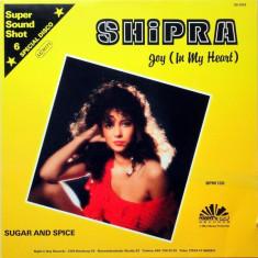 Shipra - Joy (In My Heart) 1986 disc vinil Maxi Single italo-Disco - Muzica Pop