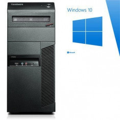 PC Refurbished ThinkCentre M91p, Quad Core i5-2400, Win 10 Home - Sisteme desktop fara monitor Ibm