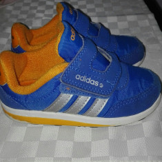 Adidasi - Adidasi copii, Marime: 22, Culoare: Albastru