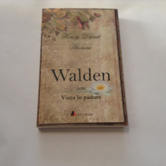 HENRY DAVID THOREAU  WALDEN,RF12/2