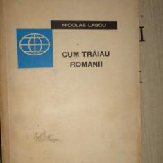 Cum traiau romanii an 1965 /445pag- Nicolae Lascu - Istorie