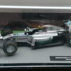 Macheta Formula 1 Mercedes F1 W05 - Lewis Hamilton 2014 - Altaya 1/43 - Macheta auto