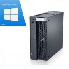 PC gaming Dell Precision T3600, E5-1650, SSD, GTX 750, Win10Pro - Sisteme desktop fara monitor