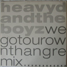 Heavy D & The Boyz - We Got Our Own Thang '90 disc vinil Maxi Single RnB/hip-hop - Muzica Hip Hop