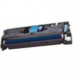 Cartus toner nou compatibil HP Q3961A Cyan - Cartus imprimanta