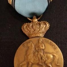 MEDALIE 100 ANI DE LA NASTEREA PRIMULUI REGE AL ROMANIEI 1839- 1939 - Decoratie