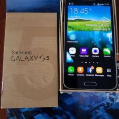 Samsung Galaxy S5 - pret foarte bun, livrare gratuita! - Telefon mobil Samsung Galaxy S5, Albastru, 16GB, Neblocat, Single SIM