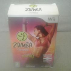 Set Zumba Fitness - JOC + CENTURA - Nintendo Wii, Kit acceosrii