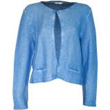 Cardigan tricotat din bumbac Miss Etam, albastru, pentru femei - Bluza dama