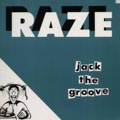 Raze - Jack The Groove 1987 disc vinil Maxi Single House - Muzica House