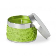 Lumanare parfumata cu aroma de mar verde