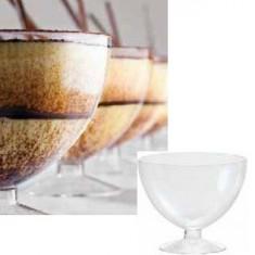 Set 100 buc cupe desert 175 ml pentru unica folosinta