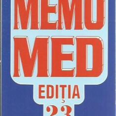 Dumitru Dobrescu - MEMOMED 2017 MEMORATOR DE FARMACOLOGIE ALOPATA EDITIA 23
