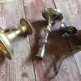Sfeșnice-3 buc. - Metal/Fonta