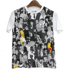 Tricou alb pentru copii, The Simpsons