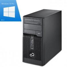 PC Refurbished Fujitsu Esprimo P400, i3-3220 Gen 3, Win 10 Pro - Sisteme desktop fara monitor Siemens