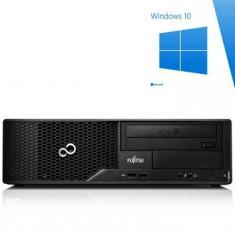 PC Refurbished Fujitsu ESPRIMO E500, I3-2100, Windows 10 Home - Sisteme desktop fara monitor Siemens