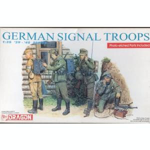 + Kit figurine scara 1/35 - Dragon 6053 German signal troops +