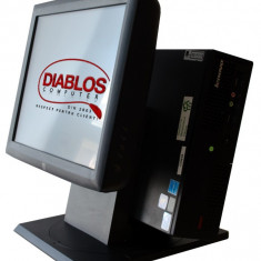 Sistem POS Lenovo M58 USFF, Q9400, Touchscreen 15 inch ELO 1529L
