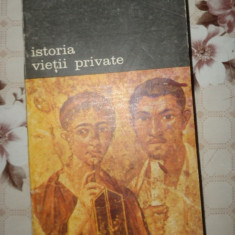 Istoria vietii private vol.1./an 1994/356pag- Philippe Aries, Georges Duby - Istorie