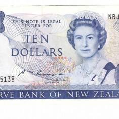 New Zealand 1985 - 10 dollars