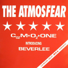 Cozmozone introducing Beverlee - The Atmosfear 1990 disc vinil Maxi Single house - Muzica House