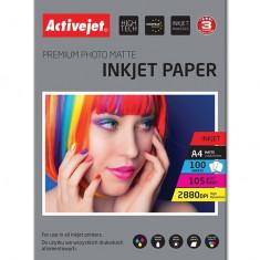 Hartie foto A4 Premium 105 Gr Activejet, Inkjet