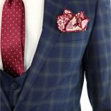 Costum tip ZARA - sacou + pantaloni + vesta - costum barbati 8393, Marime: 46, 48, 50, 52, Culoare: Din imagine
