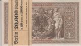 BANCNOTE GERMANIA , SERIE CONSECUTIVA , 1000 MARCI DIN 1910 , UNC , 20  BUCATI