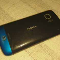 Vand nokia c5-03 functional - Telefon mobil Nokia C5-03, Albastru