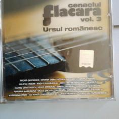 Cenaclul Flacara vol 3 Ursul romanesc Paunescu, Tudor Gheorghe, Tatiana Stepa etc - Muzica Folk, CD