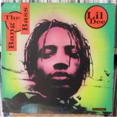 Lil' Dee - Bang The Bass 1992 disc vinil Maxi Single Hip Hop - Muzica Hip Hop