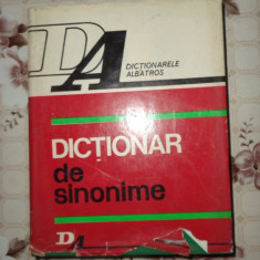 Dictionar de sinonime an 1972/488pag-  Gh.Bulgar