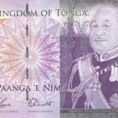 Bancnota Tonga 5 Pa'anga (2009) - P39a UNC