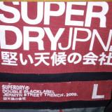 Geaca Superdry Jermyn Street Trench - Geaca barbati Superdry, Marime: 38, Culoare: Negru
