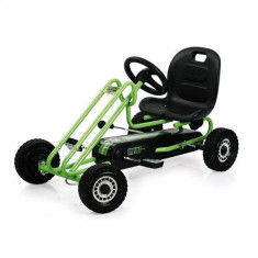 Go Kart Lightning Green - Kart cu pedale Hauck